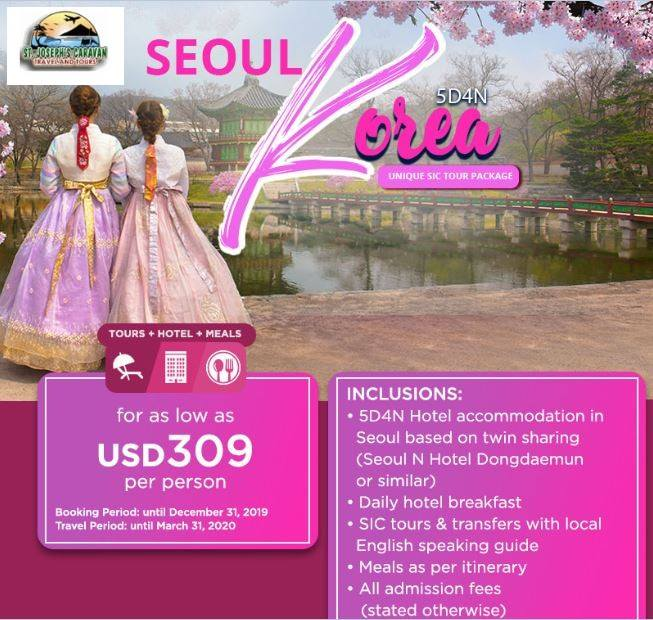 Seoul KInternational Packagesorea